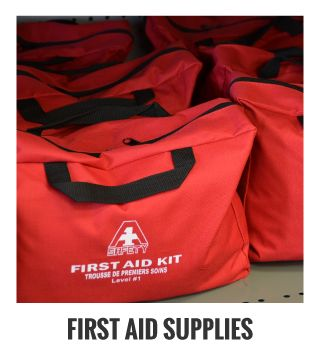 First Aid Supplies; first aid kit