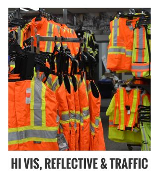 Hi Vis, Reflective & Traffic; reflective vests