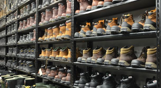 Wide selection of boots